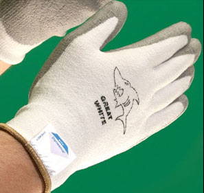 Great White Glove Pic