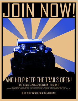 Blue Jeep Poster